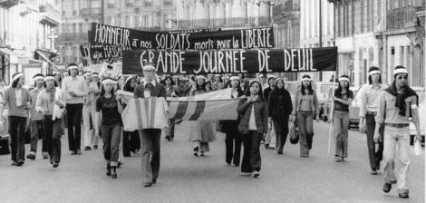 VTT 55 apr 14 paris-Grande Journée de Deuil. Ngày Đại Tang. Honneur à nos Soldats morts pour la Liberté