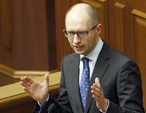 2014 MAR 12 Ukraine Premier Arseniy Yatsenyuk,