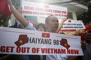 Vietnam China Anger