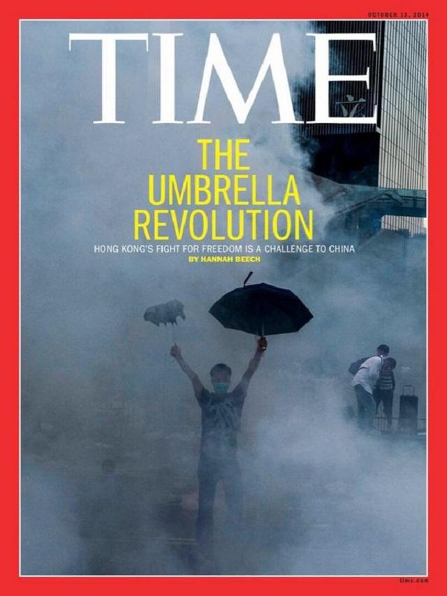 2014 OCT 2 UMBRELLA REVOLUTION