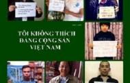 """Người Dân Hưởng Ứng Phong Trào """"Tôi Không Thích Đảng Cộng Sản Việt Nam"""""""