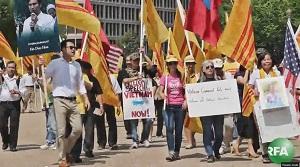 2015 JULY 8 Biểu tình phản đối TBT Nguyễn Phú Trọng. 300 jpg
