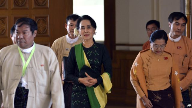 2016 FEB 9 Aung San Suu Kyi