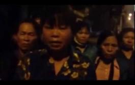 ĐÃ TỚI ĐÃ TỚI LÚC CẢ NƯỚC VÙNG LÊN  ĐOÀN KẾT LẬT ĐỔ CSVN: Bà Cấn Thị Thêu, một người đàn bà nông dân, đứng lên chống đối nhà cầm quyền CSVN