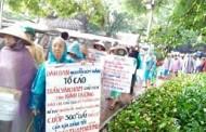 Hà Nội: Dân Oan Ba Miền Biểu Tình Trong Mưa Lớn