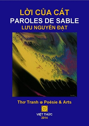 2014 SEP 2 LỜI-CỦA-CÁT.-PAROLES-DE-SABLE.-BLUE-COVER 300