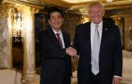 Thủ Tướng Nhật Bản Shinzo Abe tại Tháp Trump, New York: