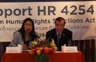 Họp báo Dự Luật HR 4254 Chế Tài CSVN Vi Phạm Nhân  Quyền