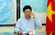 Phó Thủ tướng VC Phạm Bình Minh Gọi Chửi Trung Cộng Qua Điện Thoại Không Cắm Dây