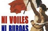 La France Doit Rester La France: Ni Voiles Ni Burquas -- Không Khăn Trùm, Không Che Đậy: Tự Do Cởi Mở Cho Đàn Bà Hồi Giáo