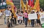 VIDEO: Cuộc Biểu Tình Chống NguyỄn Phú Trọng Và Phái Đoàn Cộng Sản Việt Nam Trước Tòa Bạch Ốc