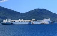 Tàu Bệnh Viện của Hải Quân Mỹ đến Đà Nẵng