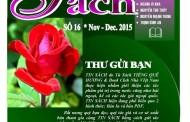 Tin Sách số 16 (tháng 11 & 12-2015)