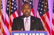 VIDEO: Ben Carson Endorses Donald Trump