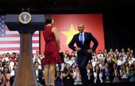«Bước Nhảy Tế Nhị» Của Obama Về Nhân Quyền Việt Nam --- TT Obama Kêu Gọi Giới Trẻ Việt Nam Hành Động Vì Môi Trường