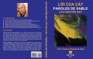 Lưu Nguyễn Đạt và Thi Phẩm Song Ngữ LỜI CỦA CÁT - PAROLES DE SABLE